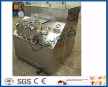 Two stages Milk Processing Types dairy homogenizer 3 plunger
