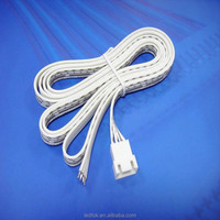 LED Light Strip Connector Adapter 4 pin female plug cables for RGB SMD 5050 Flexible PCB