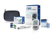 diabetic test strips blood glucose meters with free strips BGM-1