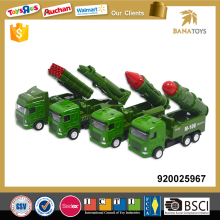 High speed diecast military models pull back car