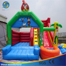New inflatable bouncers, adults inflatable bouncy castle with slide, inflatable toys