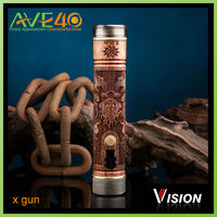 The best selling vision swig w battery best electronic cigarette vision x fire x gun