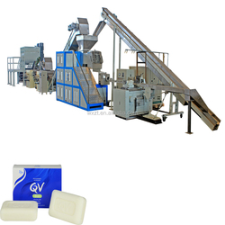A Soap line making machine saponification process vacuum drier complete machinery to manufacture soaps