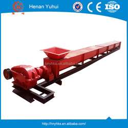 Transporting coal, sand, lump coal vertical screw conveyor