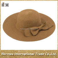 Favorite promotional fashion wide brim sombrero drinking hat lady beach straw hat