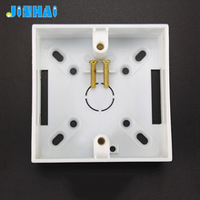 ABS Plastic Wall Mount Switch Box Electrical Single Gang Box
