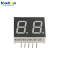 Dual digit Red color 0.40inch common anode LED seven segment display