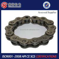 High quality carbon steel motorcycle chain and sprocket sets