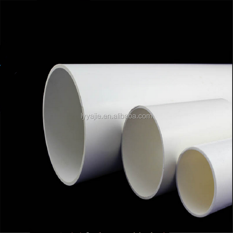 PVCU Water Supply Pipes UPVC Sewer Pipes PVC Drainage Pipes