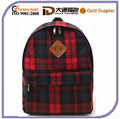 plaid kindergarten school bag backpack for kids childrens