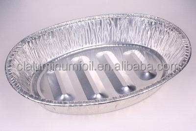food packaging disposable aluminum foil turkey baking pan/container