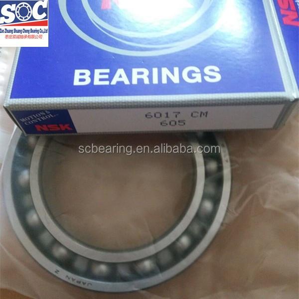 NSK 6017 deep groove ball bearing ball bearing45