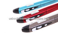 1000 dpi 2.4g wireless air presenter pen mouse blue red gray color