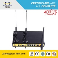 wifi hotspot router 4g wireless router modem with dual sim slot &1WAN port support VPN & TCP/IP F3C30 for video transmission