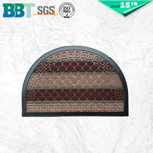 Corrosion-Resistant Colour Combination Semicircle Floor Door Mat Waterproof Bath Mat - 9