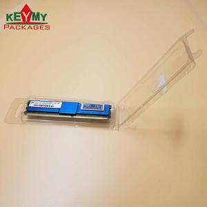Custom clear clamshell blister thermoforming pvc double blister packaging