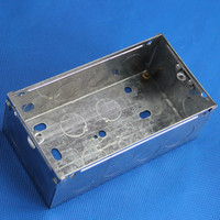 waterproof metal electrical box cover and box