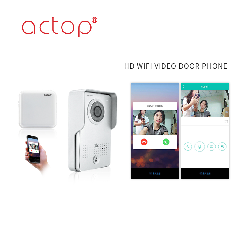 China Factory Best New HD Wireless Video Door Phone with App Control