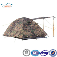 Camouflage Military Camping Hiking Tent with Carry Bag