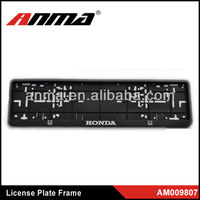2013 custom license plate frames wholesale
