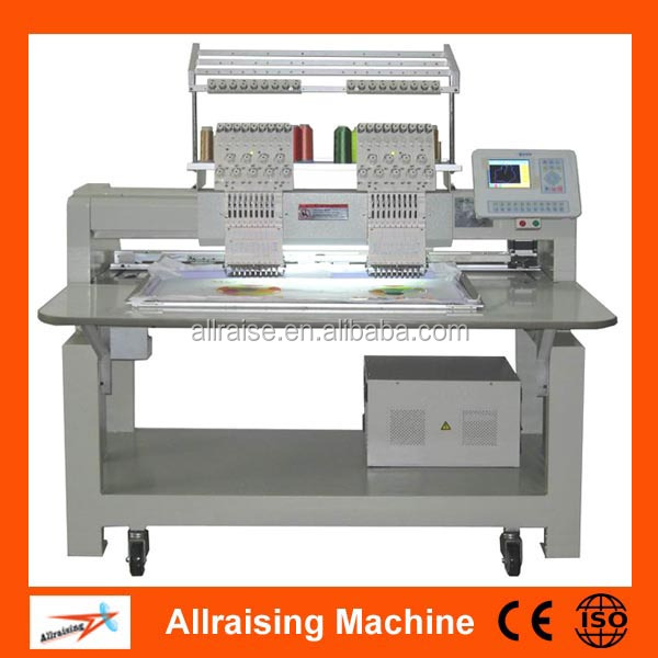 Industrial Double Heads Computer Embroidery Machine Price
