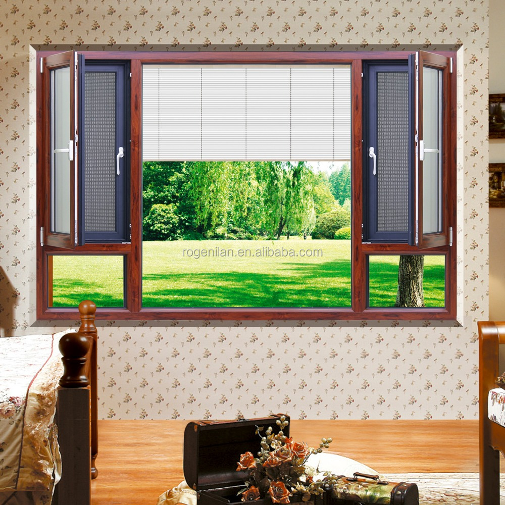 Curtains for double windows