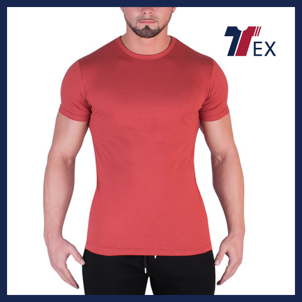Fitness t shirt custom dry fit compression gym t shirts from clothing factories in china cheap online clothes shopping