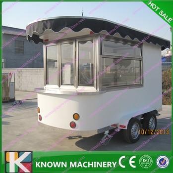 affordable economical food beverage snack vending trailer china new economy food kiosk mobile food carts mobile