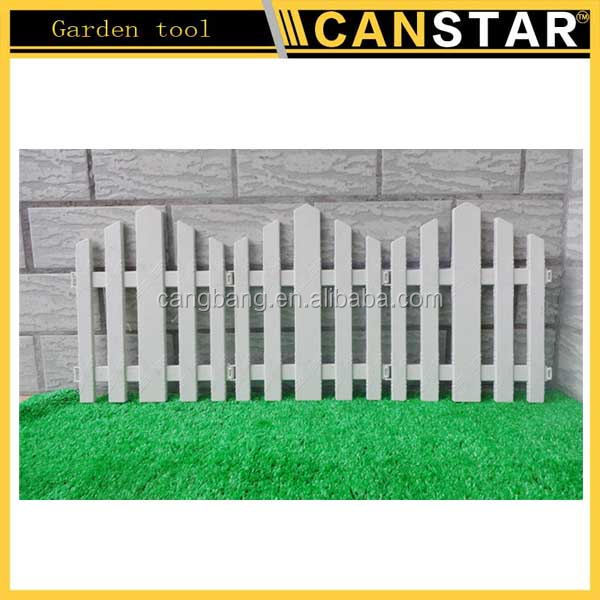 Superior Small garden fence for garden border/ small plastic fence garden decoration