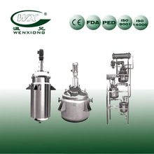 Sanitary Stainless Steel chemical reaction tank be used on chemistry industry