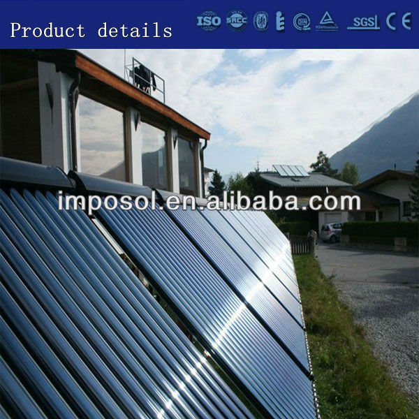 heat-pipe swimming pools solar collector system/solar collector