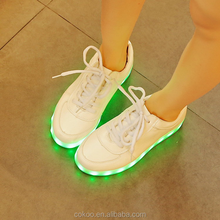 Night Party Most Popular Products LED Light Up Luminous Sneaker Shoes alibaba express