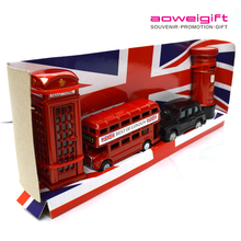 Ao Wei Gift UK tourist souvenirs buses mailbox pencil sharpener sets