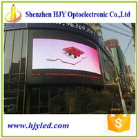 outdoor waterproof p10 video led screen video wall