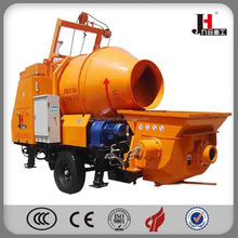 2015 Concrete Pump With Mixer China Supplier/electric cement mixing and pumping machine