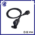 CEE male connector 110v extension cord