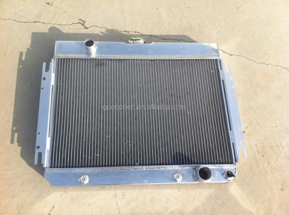 All aluminum radiator for Chevrolet Chevy Impala 80-85