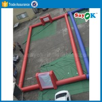 Giant indoor playground inflatable soccer field inflatable football field for sale