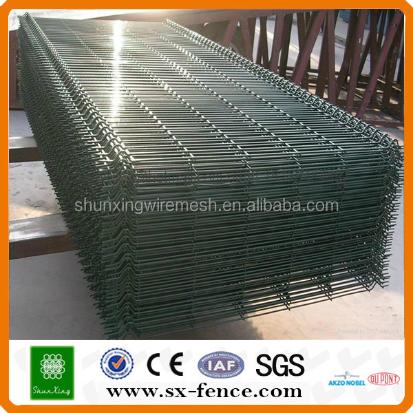 galvanized and pvc coated welded wire mesh sheets (from Anping,China)