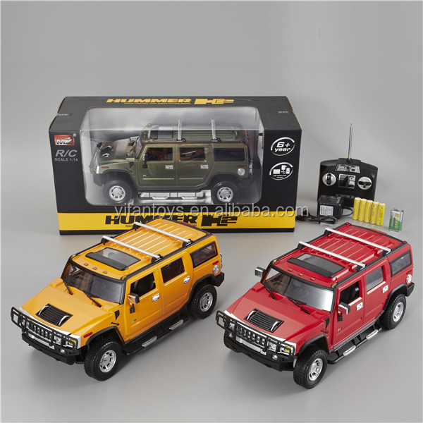 Remote Control Autos 2026 1:14 Scale 4ch Authorized Hummer H2 RC CAR