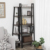 Vintage 5-Tier Wood Corner Shelf  Storage Racks & Plant Stand for home and office