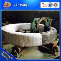 4mm 1570MPa high carbon pc steel wire Helical Ribs Surface for construction