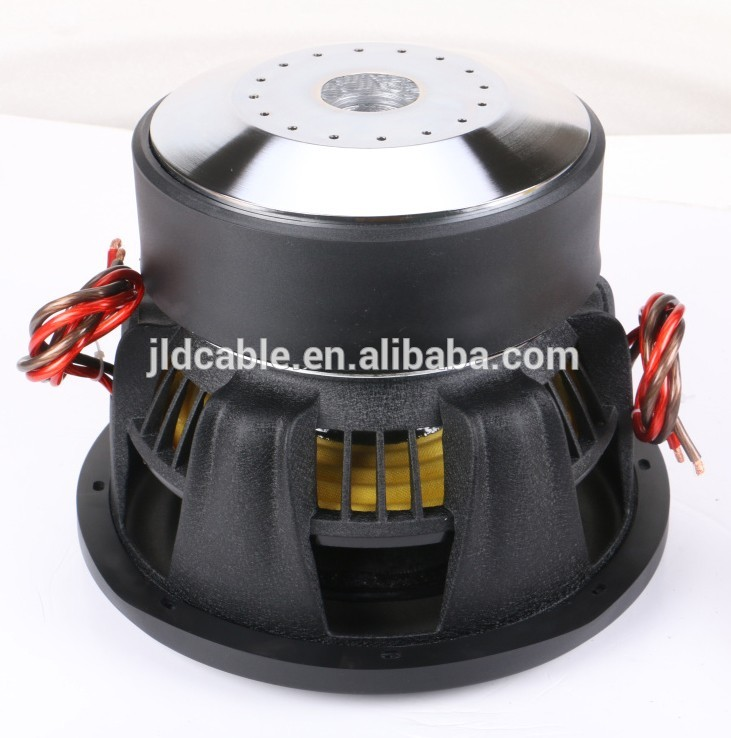 Good quality for China supplier competition subwoofer 1500W with huge motor subwoofer 12