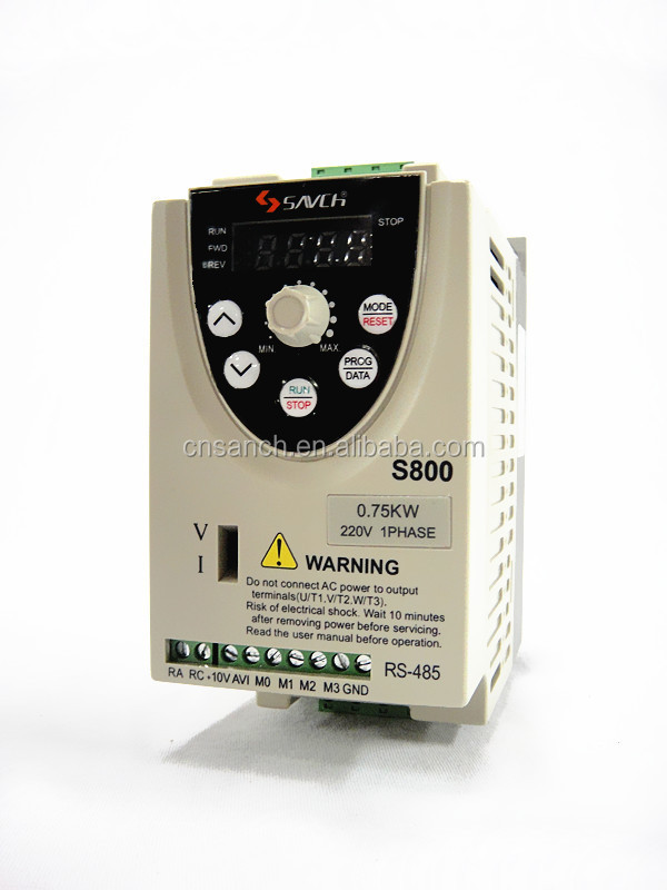 Sanch s800 compact size economic type 220v for 240v motor speed controller