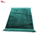 Turkish Prayer Rug Muslim Janamaz Islamic Namaz Seccade Prayer Mat Carpet Green
