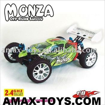 08600 1:8th Scale RC car lightweight version Nitro Off Road Buggy-MONZA rc hobby