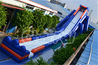 2016 Hot-selling Inflatable Long Water Slide/Inflatable Hippo Slide
