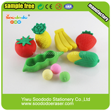 Fruit Items design,Eraser stationery new arrivals
