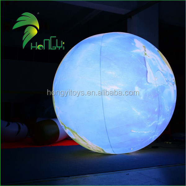 High Definition Magic 0.18mmPVC Inflatable LED balloons / Inflatable Furniture For Decoration