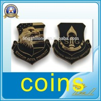 Custom logo metal challenge coin souvenir coin made in China